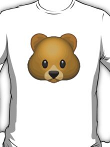 Bear Face Apple / WhatsApp Emoji T-Shirt