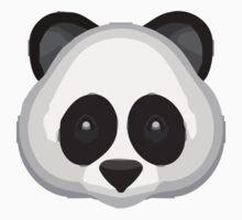 Panda Face Apple / WhatsApp Emoji Kids Clothes