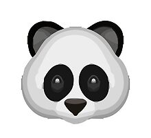 Panda Face Apple / WhatsApp Emoji by emoji
