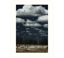 Dry Country Sky © Art Print