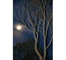 Quilpie Moon © Vicki Ferrari Photographic Print