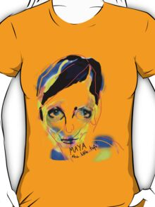 'If I Draw you Missing Friend will you Come Play?#1: Maya T-Shirt