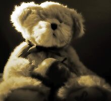 Teddy Bear in Sepia by Evita