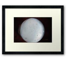Selenite Sphere © Vicki Ferrari Framed Print