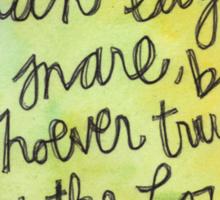 Proverbs 29:25 Sticker