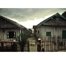 Indonesian Houses Photographic Print