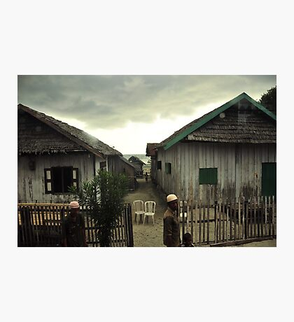 Indonesian Houses Photographic Print