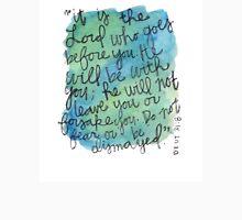 Deuteronomy 31:8 Watercolor Print Unisex T-Shirt