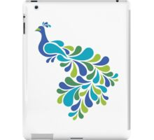 Abstract Peacock iPad Case/Skin