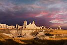 Sunrise over Badlands Castle Trail .2 by Alex Preiss