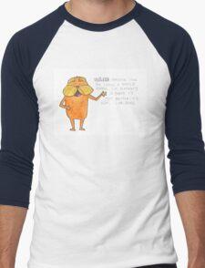 The Lorax Watercolor Men's Baseball ¾ T-Shirt