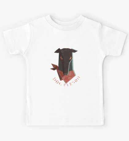 dog person Kids Tee