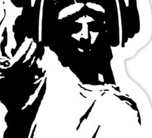Lady Liberty with DJ Headphone Sticker