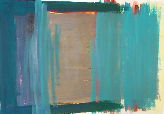 Rothko Influenced Abstract 10 by Josh Bowe