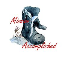 Mission Accomplished by Ilunia Felczer