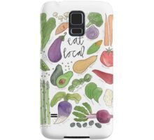 Eat More Veggies Samsung Galaxy Case/Skin