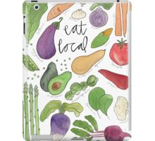 Eat More Veggies iPad Case/Skin