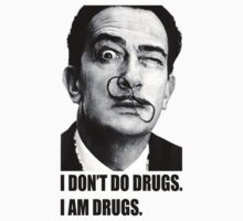 Salvador Dalí by theladyinred