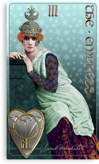 Tarot: The Empress (III) by Ivy Izzard