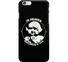 In heaven (Circle) iPhone Case/Skin