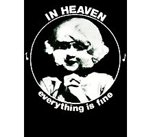In heaven (Circle) Photographic Print