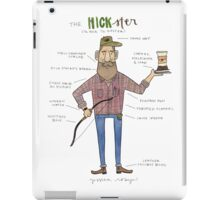 The Hickster iPad Case/Skin