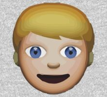 Person With Blond Hair Apple / WhatsApp Emoji Kids Clothes