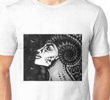 Celestial Divinity B & W Unisex T-Shirt