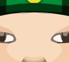 Man With Gua Pi Mao Apple / WhatsApp Emoji Sticker