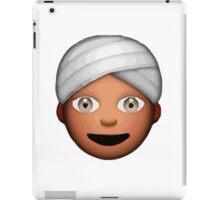 Man With Turban Apple / WhatsApp Emoji iPad Case/Skin