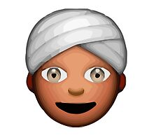 Man With Turban Apple / WhatsApp Emoji by emoji