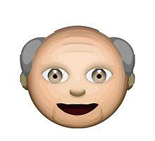 Older Man Apple / WhatsApp Emoji by emoji