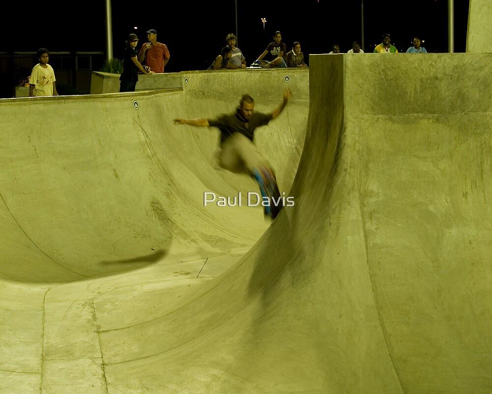 Skate Park - Esplanade - Cairns - Queensland - Australia by Paul Davis