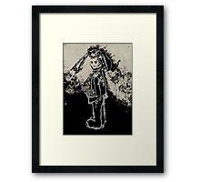 sinister bunny Framed Print