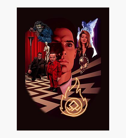 A_TWIN PEAKS_A Photographic Print