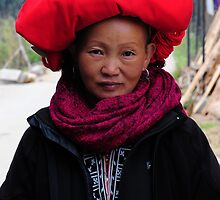 Red Dzao Woman by AnnieD