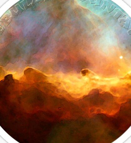 Nebula Mountain Sticker