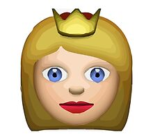 Princess Apple / WhatsApp Emoji by emoji