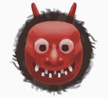 Japanese Ogre Apple / WhatsApp Emoji Kids Clothes