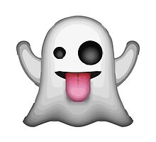 Ghost Apple / WhatsApp Emoji by emoji