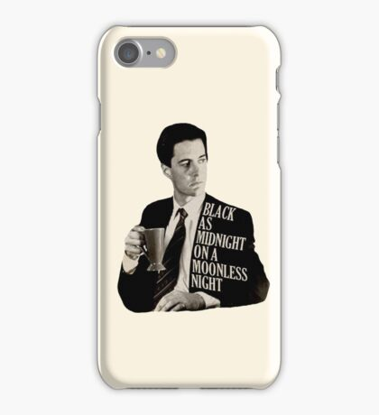 Cooper and good cup of coffee iPhone Case/Skin