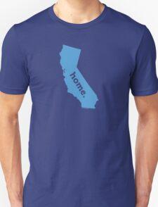 California HOME BLUE T-Shirt