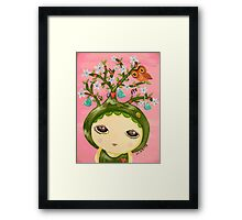 She Grows A Tree (Original Version) Framed Print