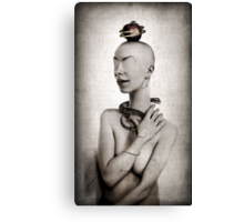 Eve And The Apple Canvas Print