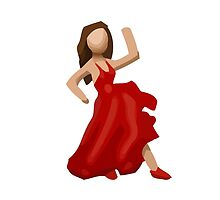 Dancer Apple / WhatsApp Emoji by emoji