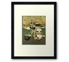 A Sea King Helicopter belonging to 849 sqn Framed Print