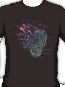 Artificial emotions (purple/blue) T-Shirt