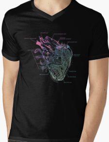 Artificial emotions (purple/blue) Mens V-Neck T-Shirt