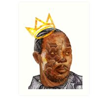Omar The King Art Print