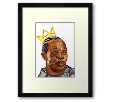 Omar The King Framed Print